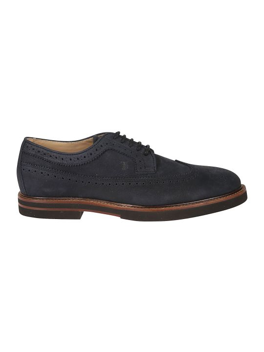 Tod's Perforated Light Casual Derby Shoes