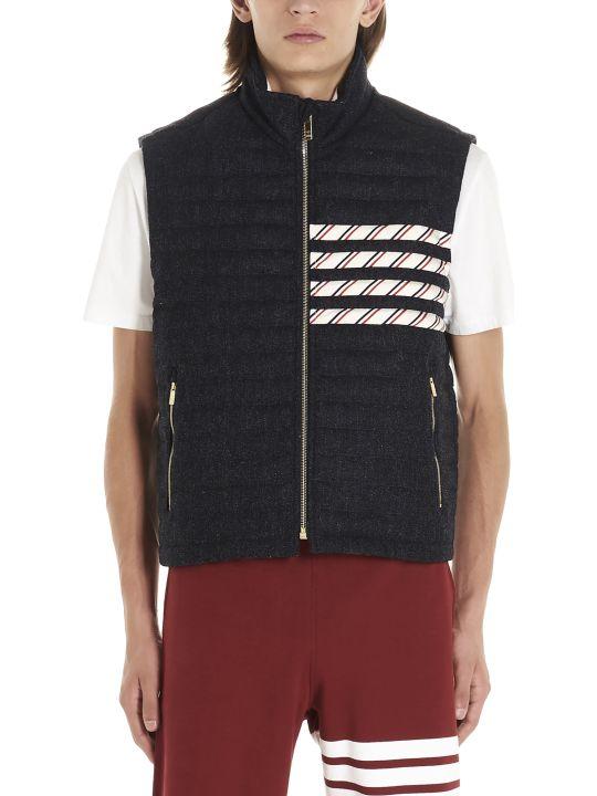 Thom Browne '4 Bar Stripes' Vest