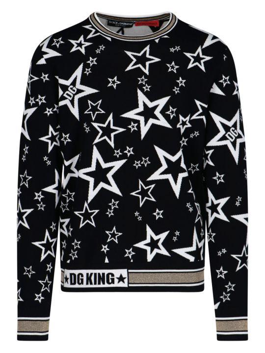 Dolce & Gabbana Jacquard Sweater