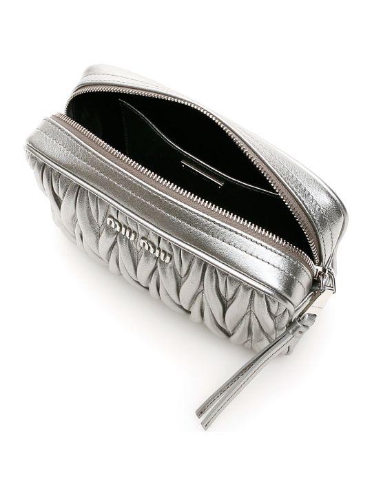 Miu Miu Matelassé Nappa Camera Bag