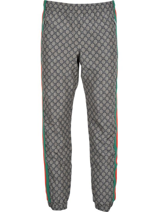 Gucci Pantalone Tuta Nylon Gg
