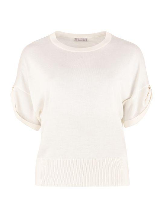 Brunello Cucinelli Cashmere-silk Blend Pullover