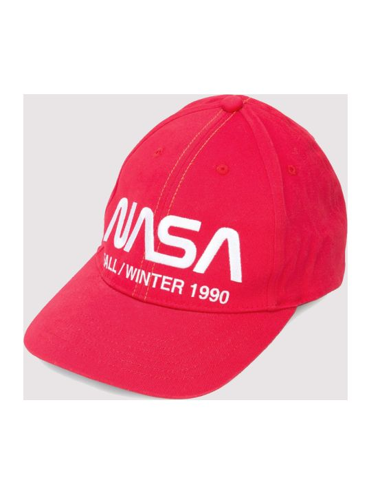 HERON PRESTON Cap Nasa Red
