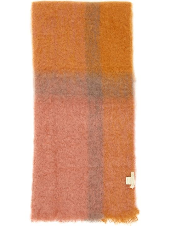 Lovat & Green Faded Check Scarf