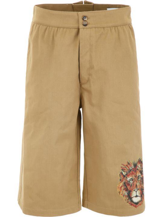 Loewe Lion Bermuda Shorts