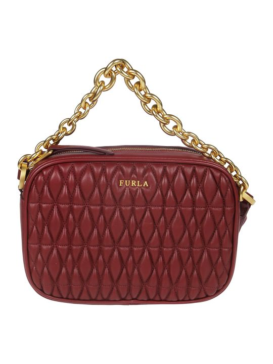 Furla Cometa Quilted Shoulder Bag