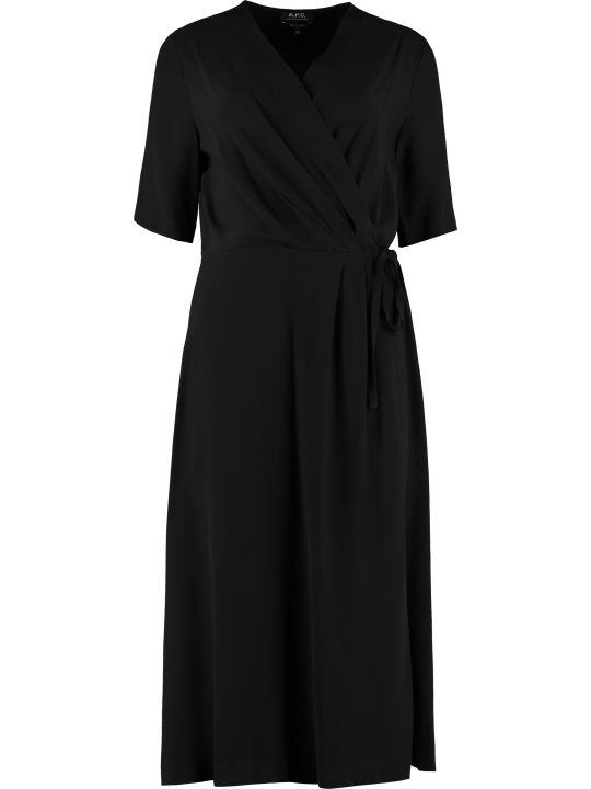 A.P.C. Mathilda Crêpe Dress