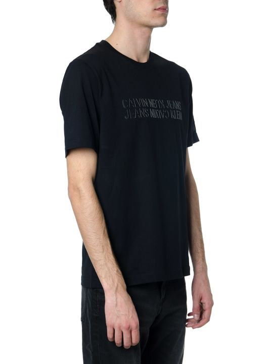 Calvin Klein Black Cotton T-shirt
