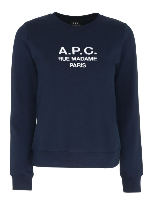 A.P.C. Tina Cotton Crew-neck Sweatshirt
