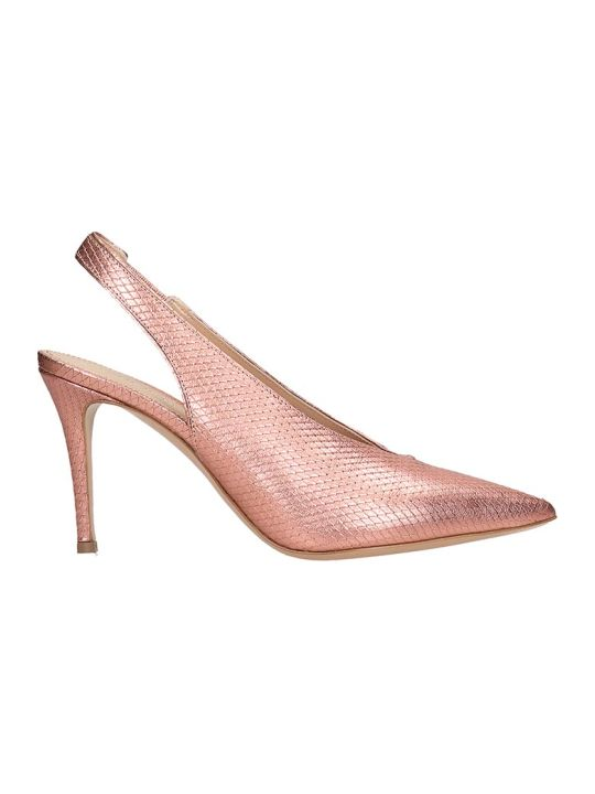 Lerre Pumps In Fuxia Leather