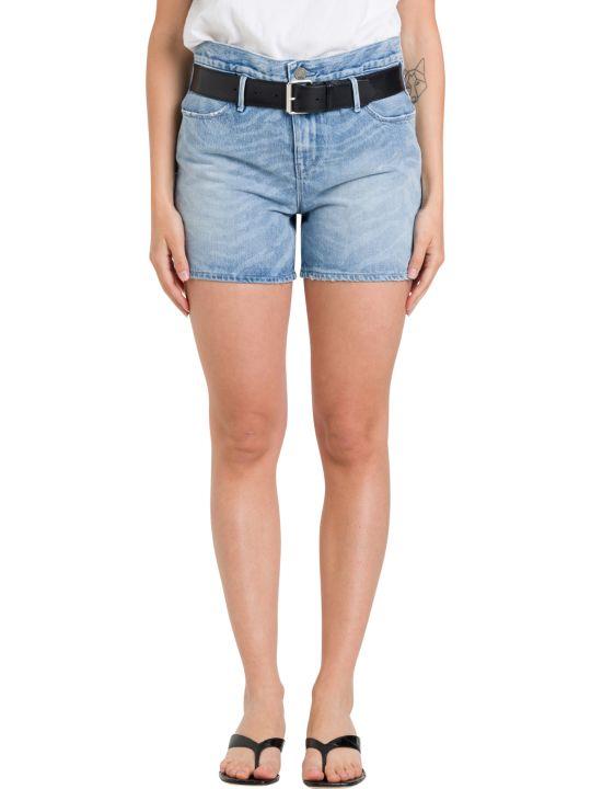 RTA Belted Denim Shorts