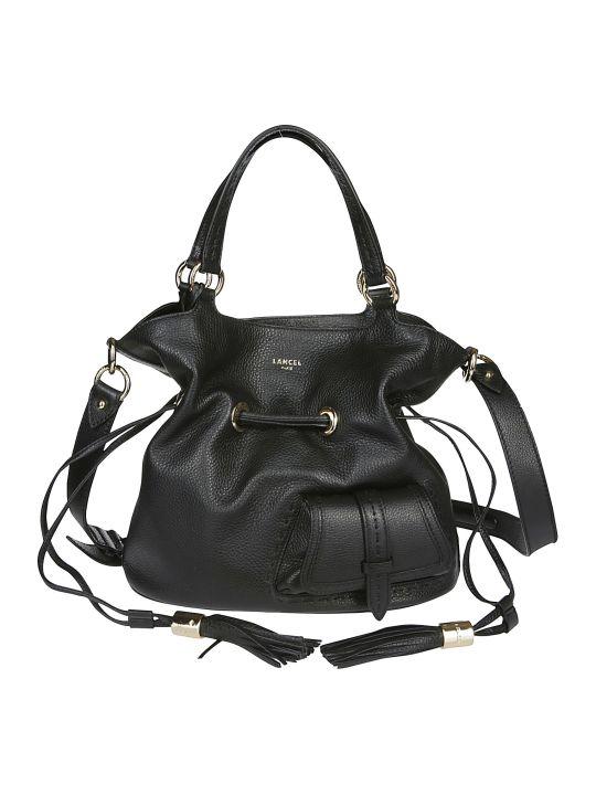 Lancel Black Leather Shoulder Bag