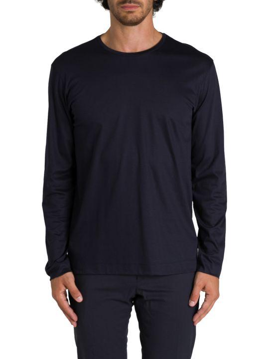 Z Zegna T-shirt A Maniche Lunghe Girocollo