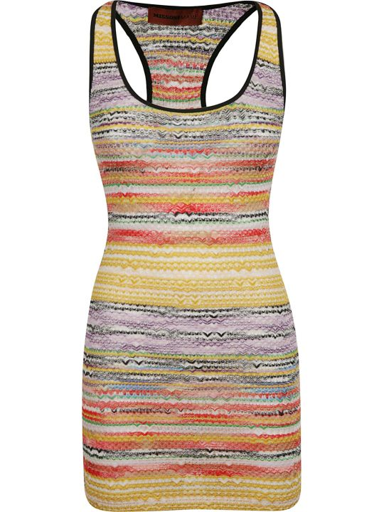 Missoni M Missoni Rainbow Knit Dress