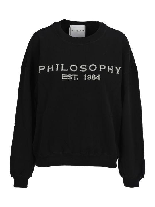 Philosophy di Lorenzo Serafini Philosophy Philosophy Embroidered Logo Sweatshirt