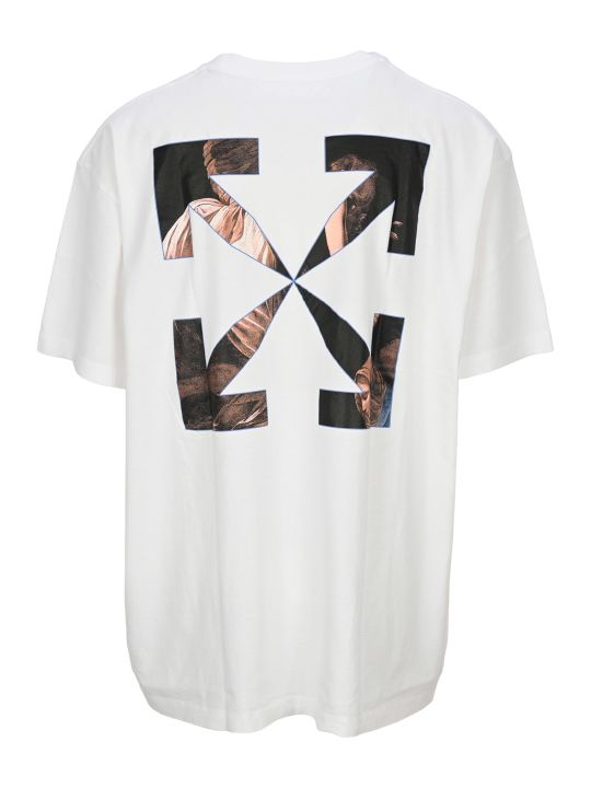 Off-White Off White Caravaggio Angel Oversize T-shirt