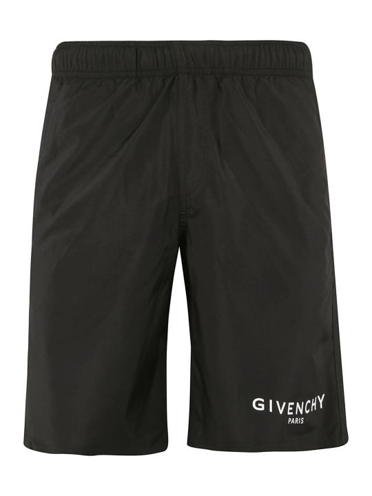 Givenchy Side Stripe Logo Detailed Shorts