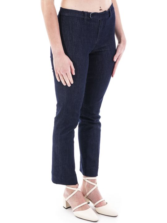 Max Mara The Cube 's Max Mara Ussita Blend Cotton Jeans