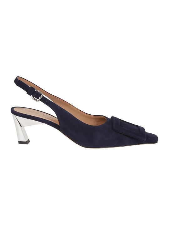 Marni Buckle Detail Pumps
