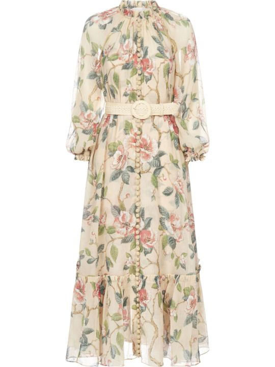 Zimmermann Kirra With Belt Dress