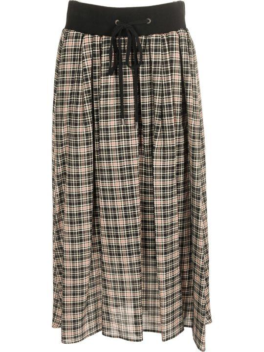 Peserico Checked Skirt