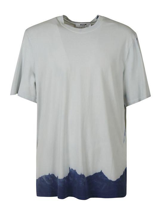 MSGM Round Neck T-shirt