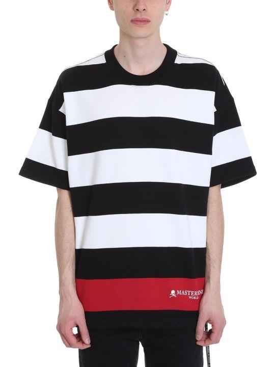 MASTERMIND WORLD Black And White Cotton T-shirt