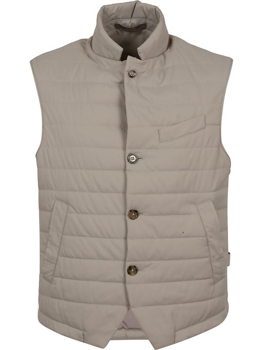 Eleventy Button-up Padded Gilet