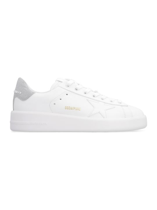 Golden Goose Purestar Leather Low-top Sneakers