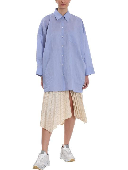 Acne Studios Suky Shirt In Blue Cotton