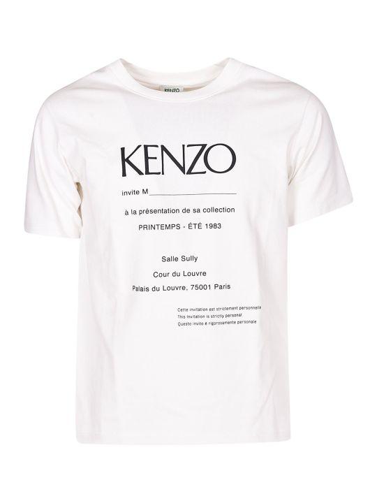 Kenzo Letter Print T-shirt