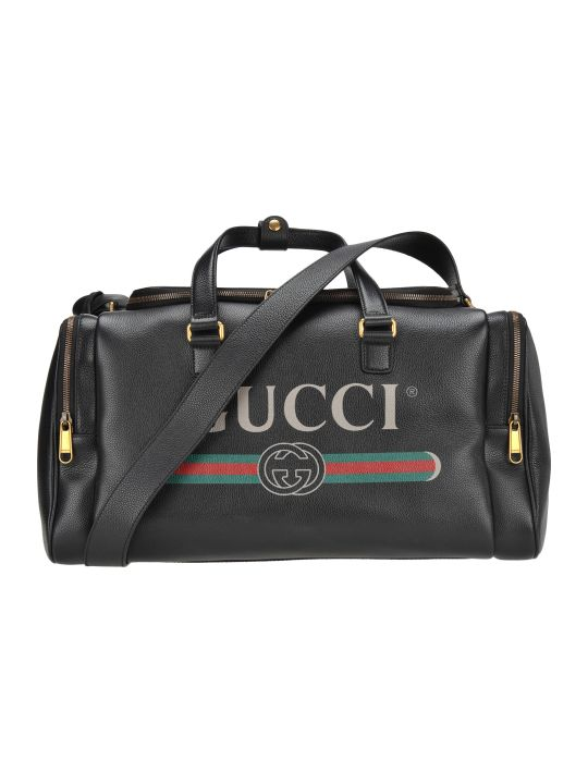 Gucci Gym Bag Logo
