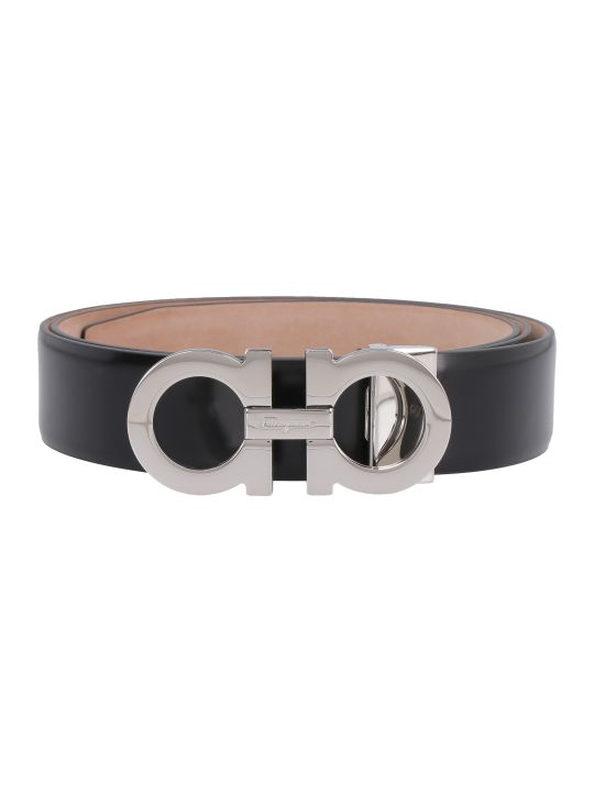 Salvatore Ferragamo Adjustable Leather Belt