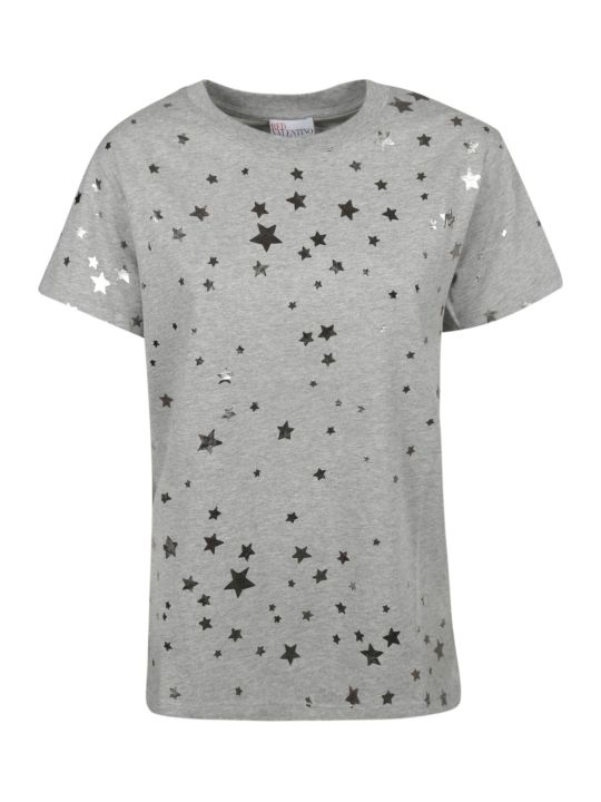 RED Valentino Star Print T-shirt