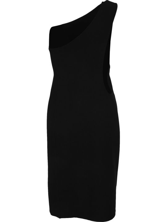 Bottega Veneta One Shoulder Dress