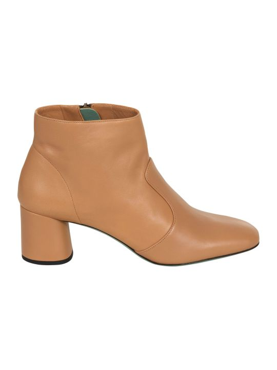 Paola D'Arcano Side-zip Boots