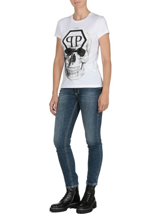 Philipp Plein T-shirt With Skull