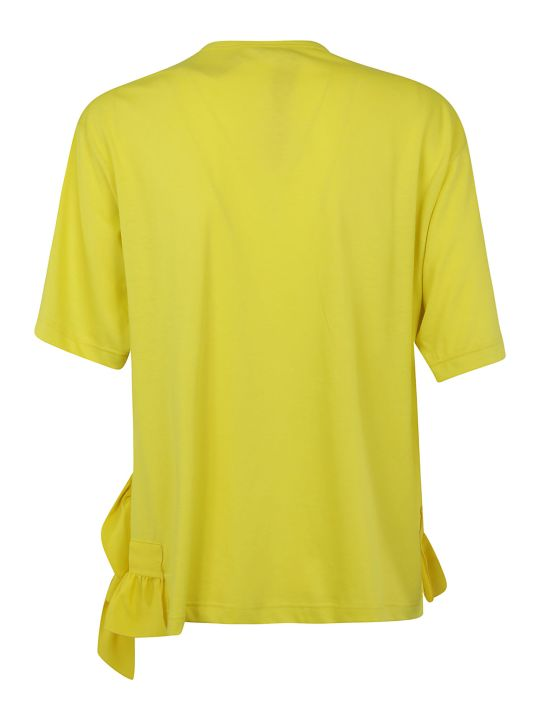 N.21 Ruffle Detail T-shirt