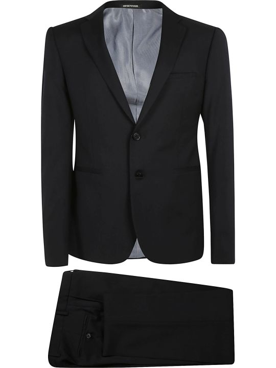Emporio Armani Classic Single Breasted Suit