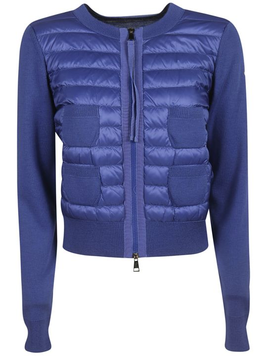 Moncler Tricot Padded Jacket