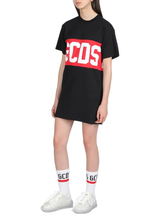 GCDS Band Logo Tee Dress