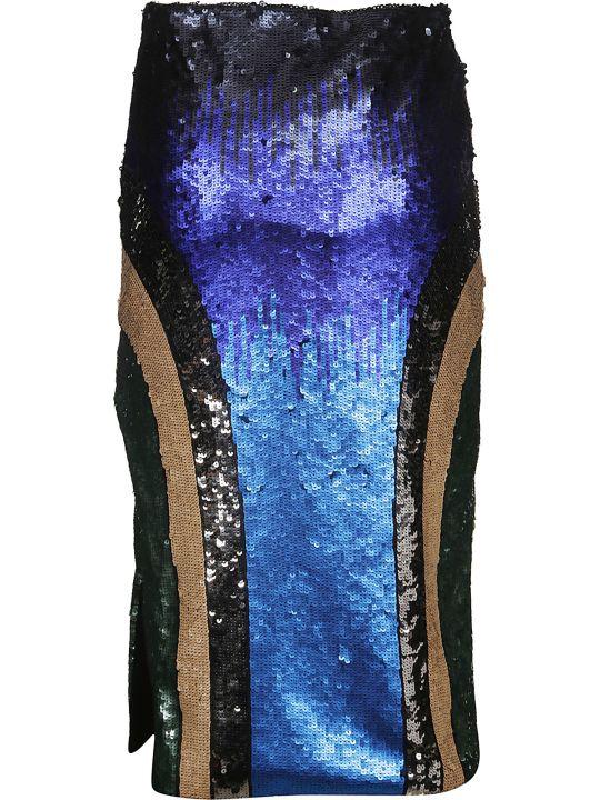 SportMax Sequin Embellished Skirt