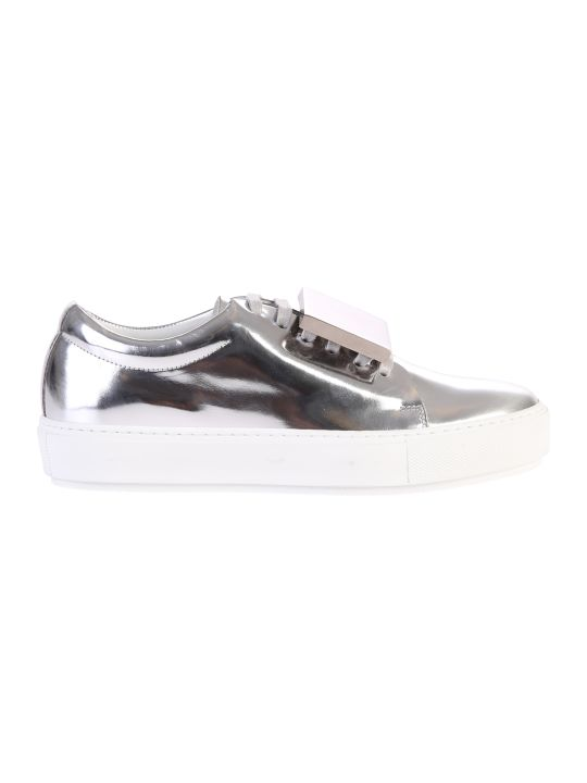 Acne Studios Metallic Adriana Turnup Sneakers