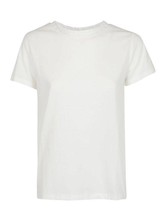A.P.C. Lace Trim T-shirt