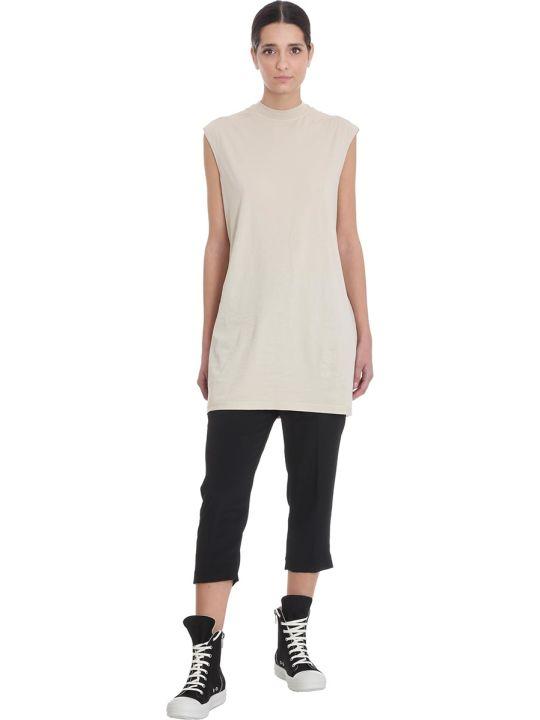 DRKSHDW Tarp Tee T-shirt In Beige Cotton