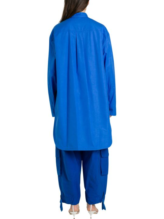 Colville Popeline Oversize Long Shirt With Patch Pockets