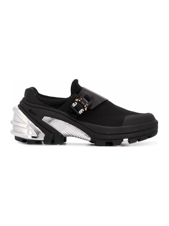 1017 ALYX 9SM Black And Silver-tone Sneakers