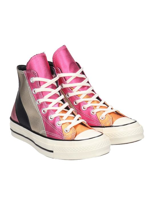 Converse Chuck Taylor Sneakers In Multicolor Leather