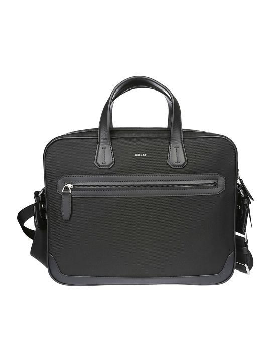 Bally Logo Briefcase