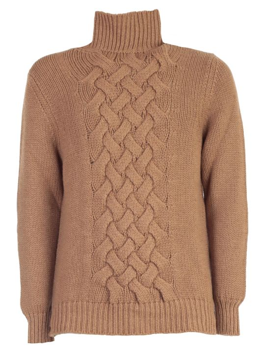 Drumohr Sweater Crater Neck W/plait